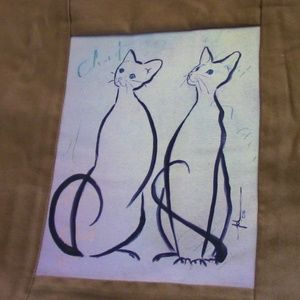 Other - Cats 18 x 18 Pillow Cover